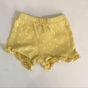 5 for $5a yellow shorts